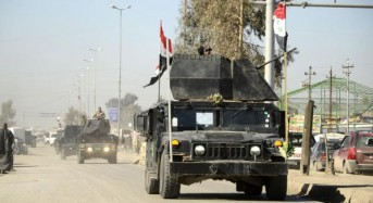 Iraq erecting floating bridge to connect east, west Mosul
