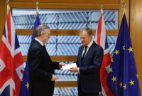 Britain formally begins process to leave European Union