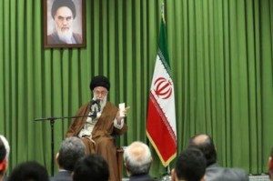 """Iran's Ayatollah Ali Khamenei called U.S. President Donald Trump """"foul-mouthed"""" and threatened to withdraw Iran from the 2015 nuclear deal. Photo courtesy Iranian Republic News Agency"""