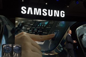 Samsung on Tuesday announced record third-quarter profits and a change in leadership atop its three major divisions. File Photo by Molly Riley/UPI | License Photo