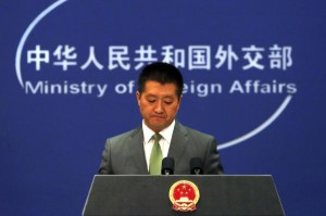 Chinese foreign ministry spokesman Lu Kang said Wednesday Beijing does not welcome unilateral U.S. sanctions against Chinese firms. File Photo by Stephen Shaver/UPI | License Photo