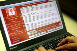 Romanian officials said Wednesday five people were arrested, believed to be responsible for one of the most widespread ransomware schemes ever. Photo by Ritchie B. Tongo/EPA