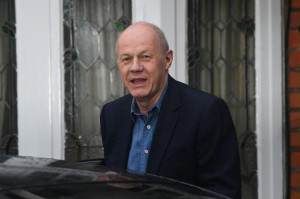 Former British First Secretary of State Damian Green leaves his house in London after being ousted from his position as one of Prime Minister Theresa May's closest political allies. Photo by Facundo Arrizabalaga/EPA