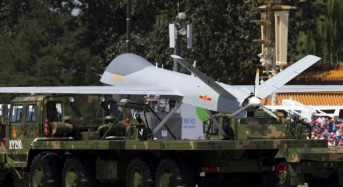 China deploying drones for 'surveillance and strikes'