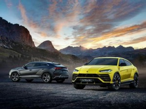 Lamborghini unveiled its new Urus SUV at it's Italy headquarters on Monday. Photo courtesy Lamborghini
