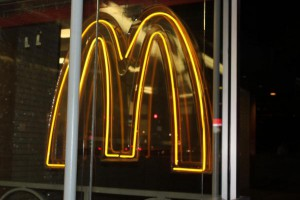 McDonald's warned Thursday against customers eating at restaurants in north and east India, citing possible health risks from poor quality and non-compliant standards. File Photo by Billie Jean Shaw/UPI