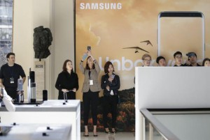 South Korean conglomerate Samsung denied a statement from a U.S. journalist comparing the company to the Kim Jong Un regime. File Photo by John Angelillo/UPI | License Photo