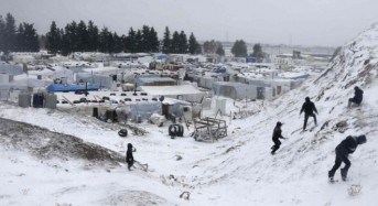 Syria conflict: 15 refugees found frozen to death