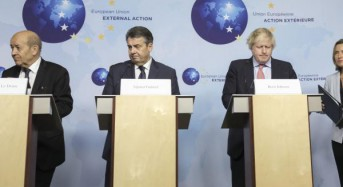 European leaders urge U.S. not to abandon Iran nuclear deal