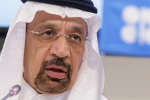 More than $20 on the price of oil is because of the OPEC-led effort to balance an oversupplied market, Saudi Arabian Energy Minister Khalid al-Falih said. File photo by Lisi Niesner/EPA.