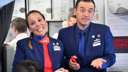 Pope Francis marries flight attendant couple on Chile flight