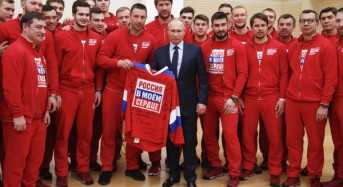 Putin apologizes to Russian Olympians for doping scandal