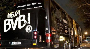 Suspect in German soccer bus bombing says he never meant to hurt people