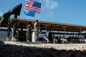 U.S. forces on Thursday conducted an airstrike in Somalia against al-Shabaab militants, killing four terrorists. According to U.S. commanders, forces will continue to partner with the country's government to target terrorists. Photo by U.S. Africa Command/Twitter