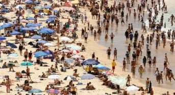 Weekend high: Sydney nearly sets heat record