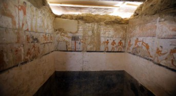 Priestess tomb from 4,400 years ago uncovered in Egypt
