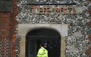 Patrons at The Mill pub and Zizzi Italian restaurant have been urged to wash their clothes and other possessions after traces of the nerve agent that hospitalized former Russian double agent Sergei Skripal and his daughter Yulia Skripal were found on the properties. Photo by Neil Hall/EPA