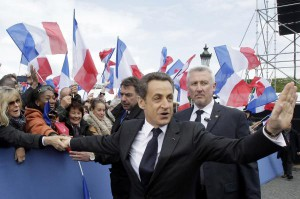 Former French President Nicolas Sarkozy was questioned by police over allegations that he recieved millions in illegal campaign funding from Libya. File photo by Michel Euler/UPI | License Photo