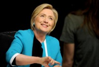 Hillary Clinton fractures wrist in India hotel bathroom
