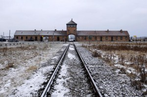 A 19-year-old Israeli man was fined $1,500 after urinating on a monument to victims of the former Nazi death camp of Auschwitz, pictured here. File Photo by Andrzej Grygiel/EPA