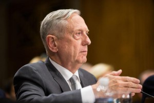 Secretary of Defense James Mattis testifies during a Senate Foreign Relations Committee hearing on Capitol Hill, in Washington, D.C. on Oct. 30, 2017. Mattis on Tuesday made a surprise visit to Afghanistan to discuss peace talks with the Afghan government. Photo by Erin Schaff/UPI | License Photo