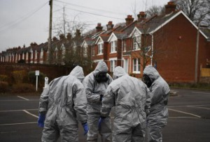 British scientists announced they were unable to determine the precise source of the nerve agent used against Russian ex-spy Sergei Skripal and his daughter Yulia Skripal. Photo by Neil Hall/ EPA