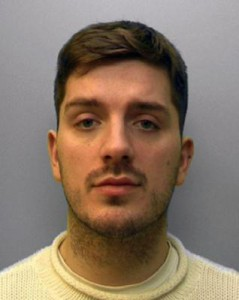 Daryll Rowe, 27, intentionally infected five men with HIV. Photo courtesy of Sussex Police Department
