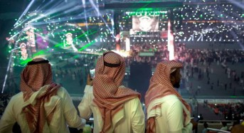 Apology after 'indecent' images of women shown at Saudi Arabia wrestling event