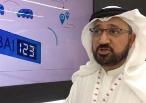 Next month Dubai will test a digital license plate system that will allow vehicles to communicate with each other as well as emergency services. Screen capture/Khaleej Times/Facebook