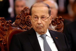 Lebanese President Michel Aoun says that Israel's alleged use of Lebanese airspace to conduct airstrikes on Syria is an attack on his country's sovereignty. File photo by Ali Abbas/EPA-EFE