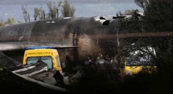 Nearly 260 dead in military plane crash in Algeria