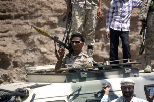 Saudi forces said Wednesday they intercepted a Houthi missile over Riyadh Wednesday and drones of the type used by Iran. File Photo by Anees Mahyoub/UPI | License Photo