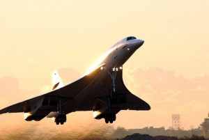 The final British Airways Concorde flight takes off from New York's JFK International Airport to return to London's Heathrow Airport on October 24, 2003. British Airways retired the supersonic Concorde fleet after 27 years of service. File Photo by Ezio Petersen/UPI | License Photo