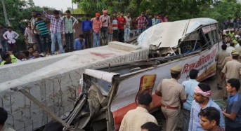 At least 18 killed in India flyover bridge collapse