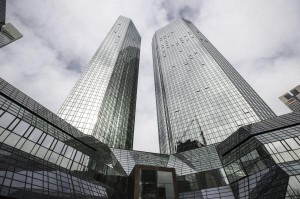 Deutsche Bank said Thursday it will cut global staff by 7,000, with most jobs expected to be lost in investment and corporate banking. File Photo by Armando Babni/EPA-EFE