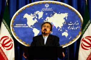 "Iran Foreign Ministry Spokesman Bahram Qassemi said Friday his country backs Syria's ""right to defend itself."" File photo by Abedin Taherkenareh/EPA-EFE"