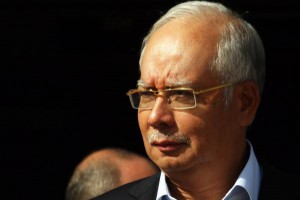 Former Prime Minister of Malaysia Mohammed Najib Razak, pictured here in 2013, was prevented from leaving the country Saturday. File Photo by Ismael Mohamad/UPI | License Photo