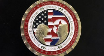 Trump administration releases North Korea summit coin