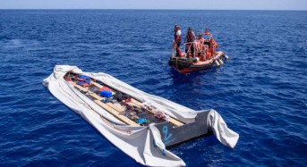 100 feared dead after migrant ship sinks off Libya coast
