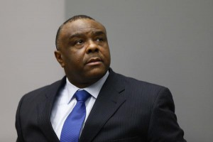 Jean-Pierre Bemba of the Democratic Republic of the Congo is still in prison after his conviction was overturned because he is serving time for witness tampering. File Photo by Michael Kooren/EPA