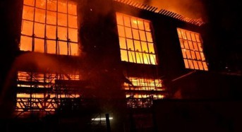 Second fire in four years guts Scotland art school