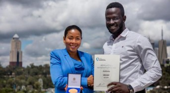 Ugandan inventor wins Africa Prize for bloodless malaria test