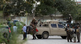 At least seven killed in suicide attack at Afghan ministry