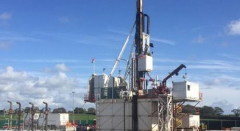 British shale driller facing continued protests
