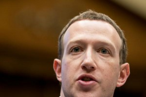 Facebook CEO Mark Zuckerberg testifies before U.S. Congress in Washington, D.C., in April about the Cambridge Analytica data breach. File Photo by Erin Schaff/UPI | License Photo