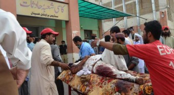 Over 70 killed in explosions at campaign rallies in Pakistan