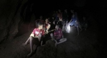 Teen soccer team, coach found alive in Thailand cave