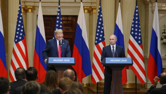 Trump, Russians hail summit as major victory; other U.S. views different