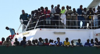 Italy lets migrant ship dock, but fate of passengers unclear