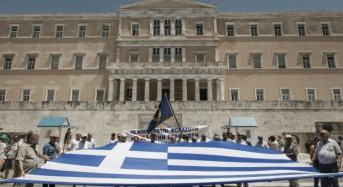 Greek bailout ends, but fears remain for eurozone debt